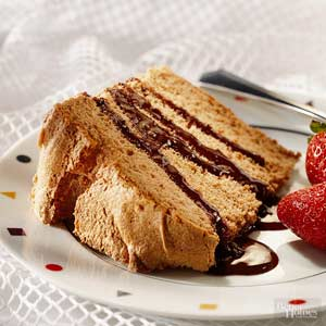 Chocolate-Cinnamon Angel Cake