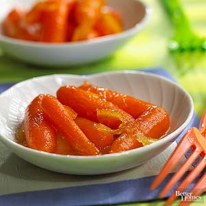Orange-Ginger Carrots