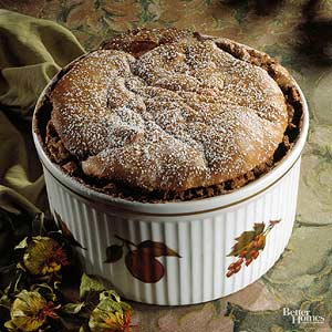 Hot Chocolate Souffle