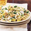 Linguine with Green Beans and Goat Cheese