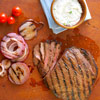 Horseradish Flank Steak