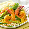 Quinoa and Curried Shrimp