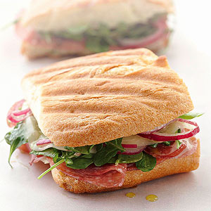 Red, White, and Green Panini