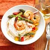Peanut-Sauced Shrimp & Pasta