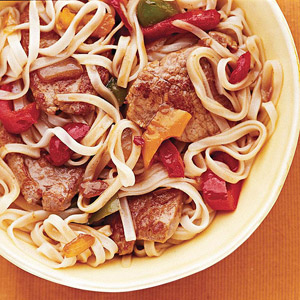 Oriental Pork and Vegetables