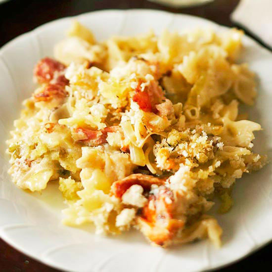 Truffled lobster macaroni and cheese for Better homes and gardens mac and cheese