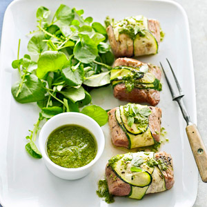 Zucchini-Wrapped Pork