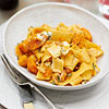 Pappardelle with Butternut Squash & Blue Cheese