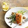Maple-Bourbon Glazed Salmon