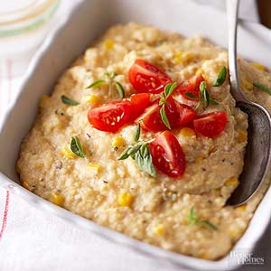 Southwestern Polenta with Corn and Chiles