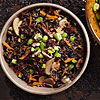 Wild Rice with Pecans and Cherries