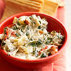 Spinach-Artichoke Dip with Blue Cheese & Bacon