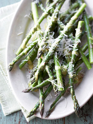 Asparagus in Mustard-Dill Sauce