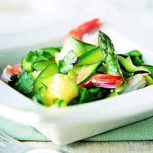 Zucchini with Shrimp
