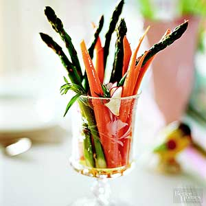 Spicy Spring Vegetables