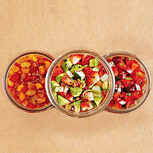 Savory Strawberry Salsa