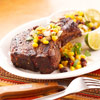 Pork Chops with Black Bean Salsa