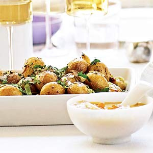 Maple-Glazed New Potatoes