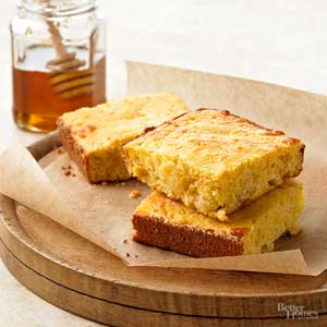 Pineapple-Cheddar Corn Bread