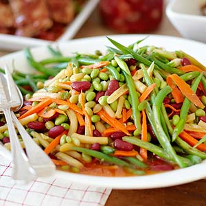 Sweet and Tangy Four-Bean Salad