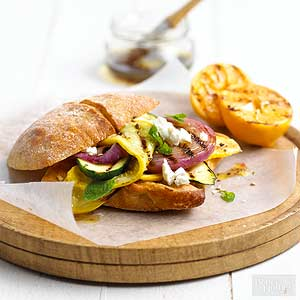 Grilled Veg Sandwiches