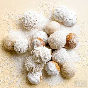 Lemon-Ginger Snowballs