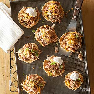 Shredded Pork Chalupas