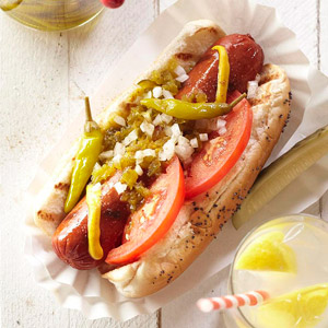 Jamie's Chicago-Style Hot Dogs