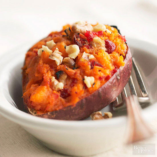 Easy microwave sweet potato recipes