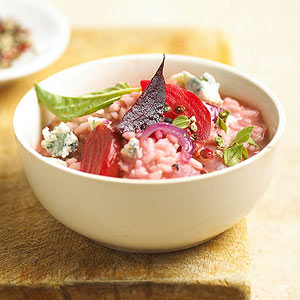 Rosy Beet Risotto