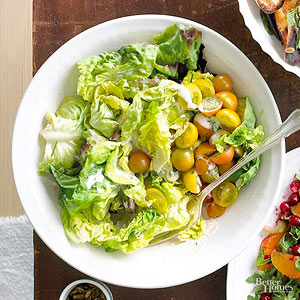 Butterhead Salad with Smoky Ranch