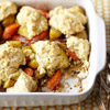 Herbed Root Vegetable Cobbler