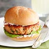 Salmon Burgers with Lime Mayonnaise