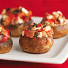 Greek-Style Stuffed Mushrooms
