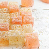 Coconut and Grapefruit Gumdrops