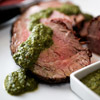 Beef Tenderloin with Three-Herb Chimichurri
