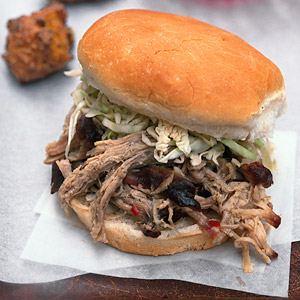 North Caroline-Style Pulled Pork with Lexington-Style Vinegar Sauce