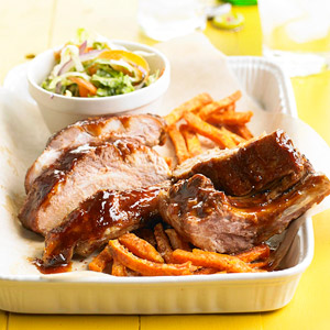 Honey-Sweet Onion Ribs