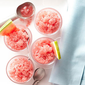 Delicious Fat-Free Watermelon Sherbet