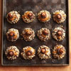 Chocolate, Hazelnut & Caramel Thumbprint Cookies
