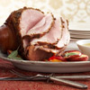 Spice-Rubbed Ham with Apple-Maple Sauce