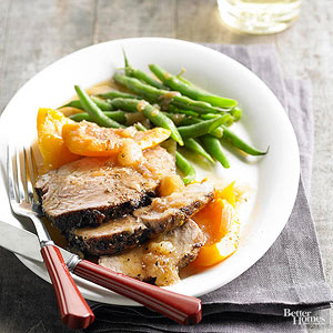 Pork Loin with Butternut Squash