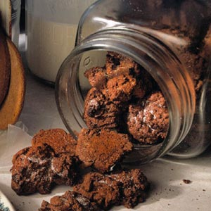 Chocolate Snickerdoodle Drops