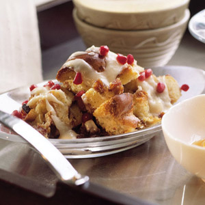Browned Butter Bread Pudding