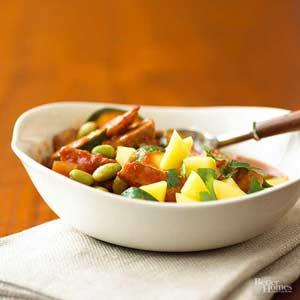 Southwest Pork Salsa Stew