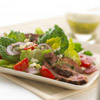 Mediterranean Beef Salad with Lemon Vinaigrette