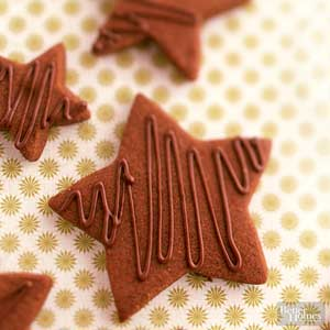 Spicy Chocolate Shortbread