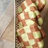 Chocolate-Mint Checkerboard Cookies