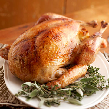 Video: How to Cook a Turkey with Herbs