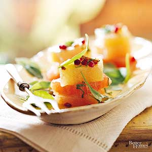 Pink Grapefruit Stacked Salad